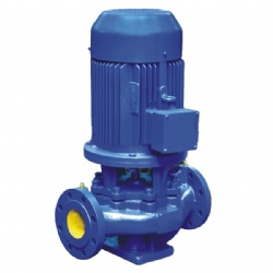 ISG VERTICAL SINGLE STAGE CENTRIFUGAL WATER PUMP