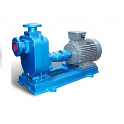 HORIZONTAL SUMP PUMP WITH SELF-PRIMING SEWAGE PUMP ZW/ZX